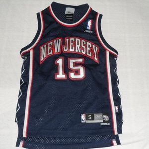 6cf3aeb6b27 Reebok Shirts   Tops - Reebok New Jersey Nets Vince Carter Jersey